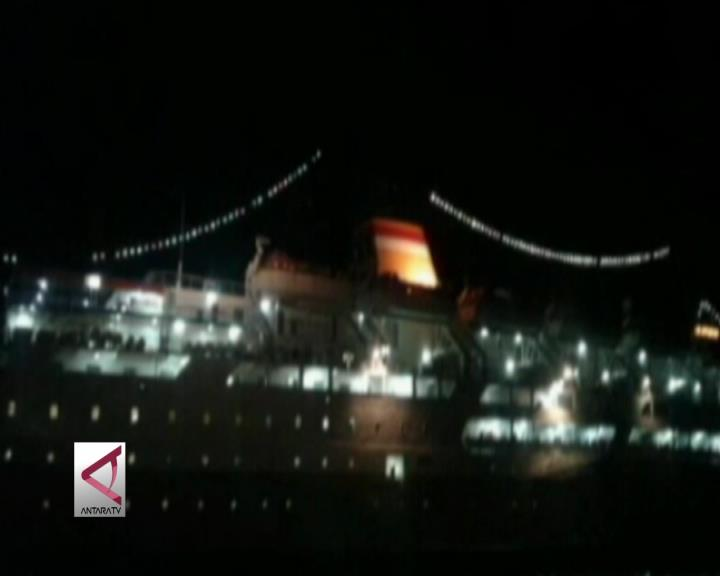 KM Sinabung dari Ambon Menuju Tual Kandas
