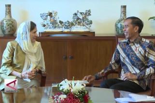 Presiden Jokowi Terima Kunjungan Ibu Negara Afghanistan