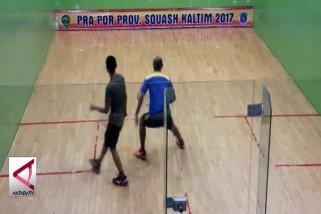 Balikpapan Pertahankan Juara Umum Pra Poprov Squash