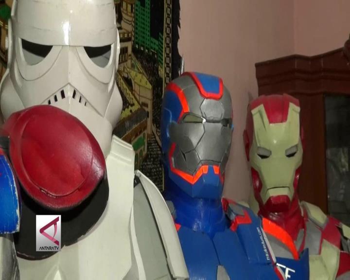 Produsen Kostum Superhero Satu-Satunya di Riau