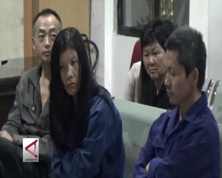 12 TKA Asal Tiongkok Ditangkap di Area Tambang