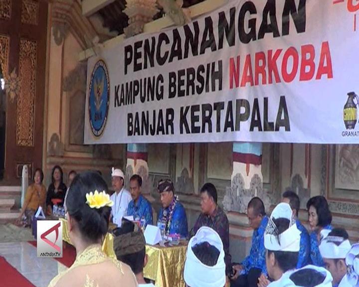 Kampung Anti Narkotika di Bali