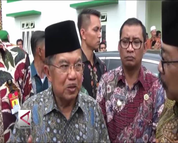 Wapres Dukung Pembangunan Bandara Tulungagung