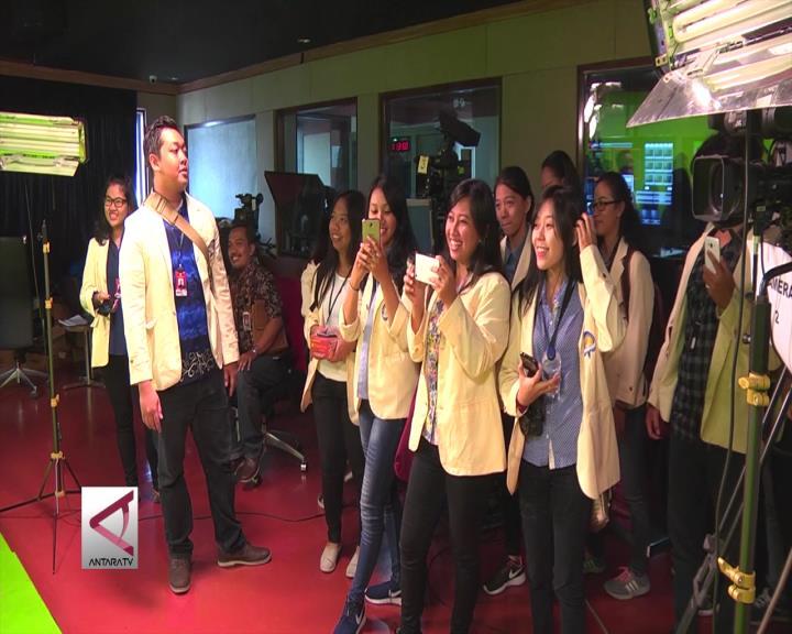 Kantor Berita Antara Wadah Studi Mahasiswa Jurnalistik