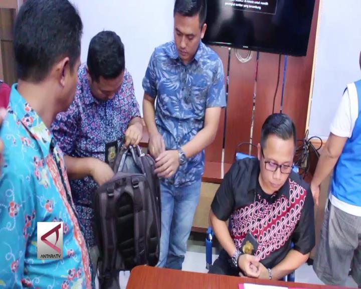 Saber Pungli  Lampung  Tangkap Pelaku Suap