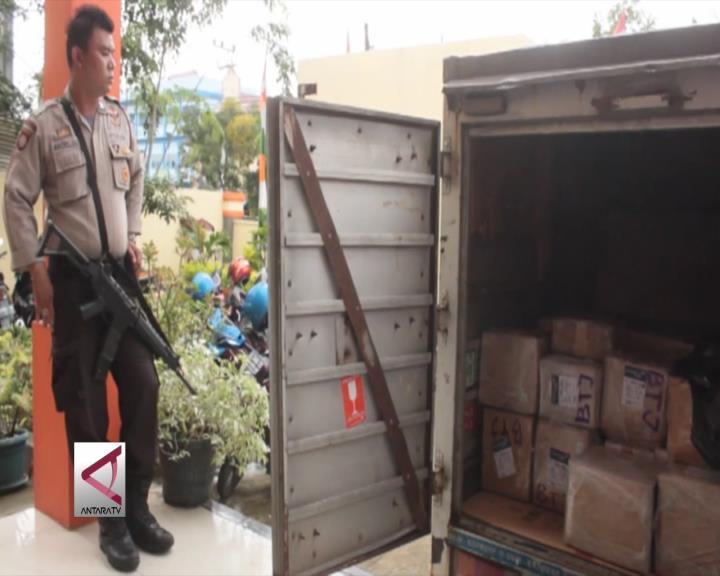 Logistik Surat Suara KIP Banda Aceh Sudah Tiba