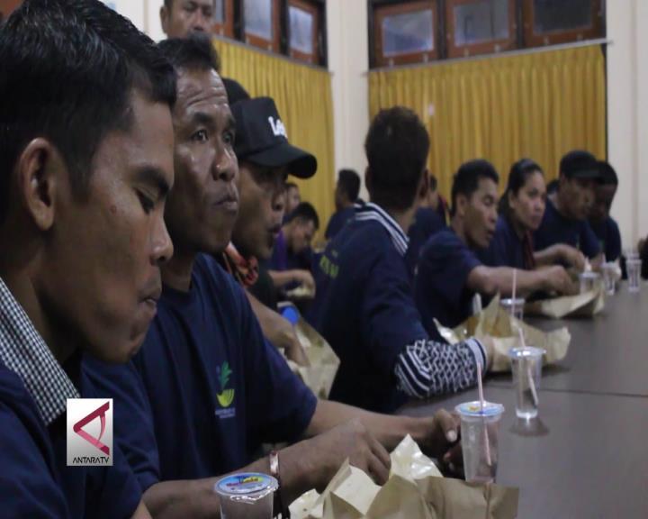 Puluhan TKI Ilegal Dideportasi dari Malaysia