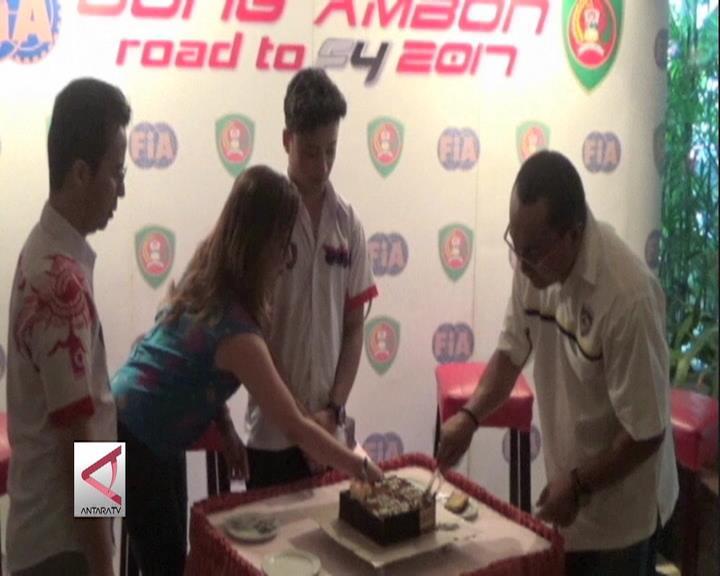Pembalap David Sitanala Bertekad Raih Juara di Cina