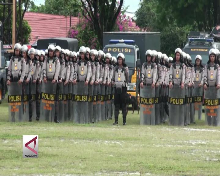 Polda Kalteng Kerahkan 1.250 Personil