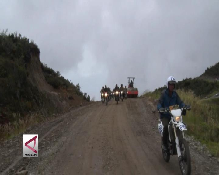 Jalan Wamena-Mumugu Segera Rampung