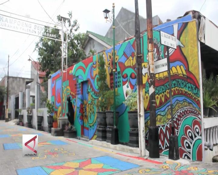 Menikmati Asrinya Kampung Seni di Semarang