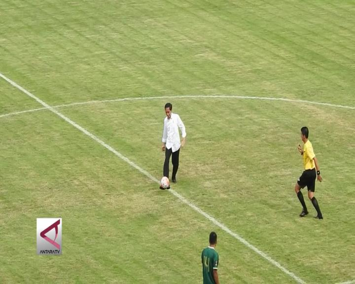 Presiden Buka Piala Presiden 2017