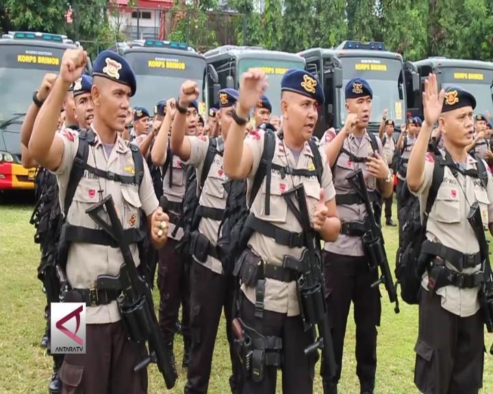 400 Personel Bantu Pilkada Banten dan Jakarta