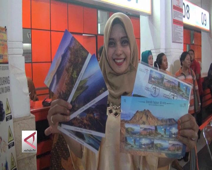 Prangko Seri Daerah Tujuan Wisata Indonesia