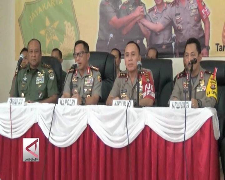 TNI Polri Antisipasi Keamanan Hasil Pilkada Banten