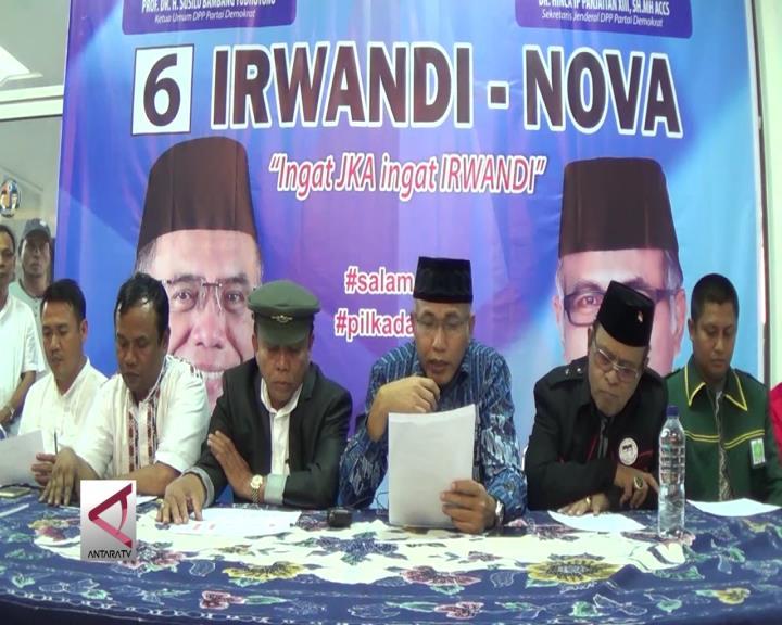 Irwandi Yusuf Deklarasikan Kemenangan