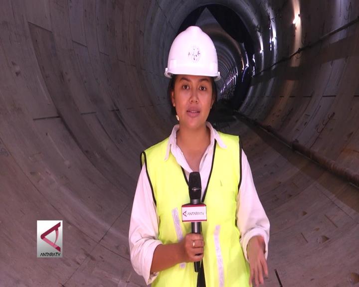 Terowongan Bawah Tanah MRT Sudah Tersambung