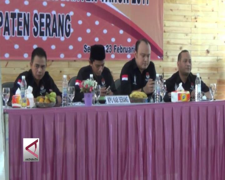 Pasangan Wahidin-Andika Unggul di Kabupaten Serang