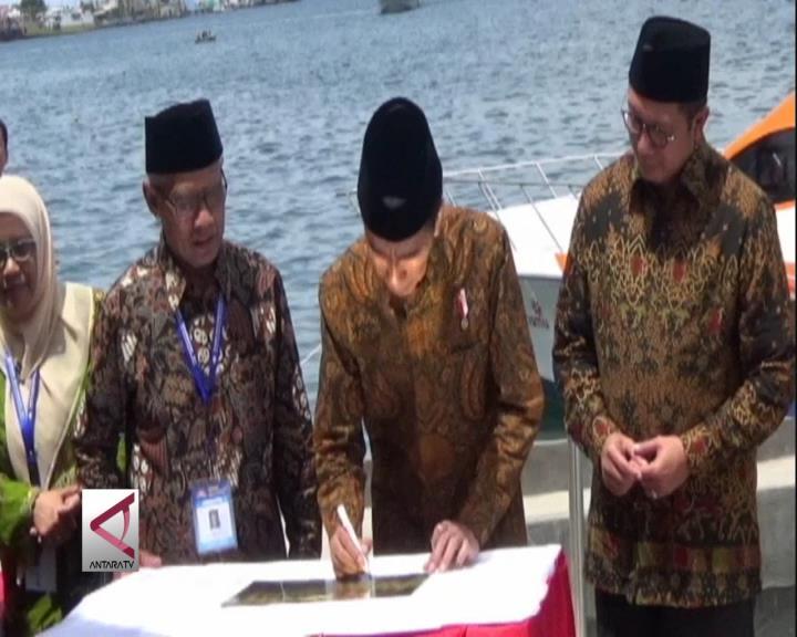 Presiden Resmikan Klinik Apung di Maluku