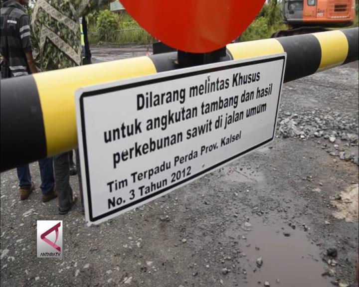 Dishub Tutup Jalan untuk Angkutan Tambang