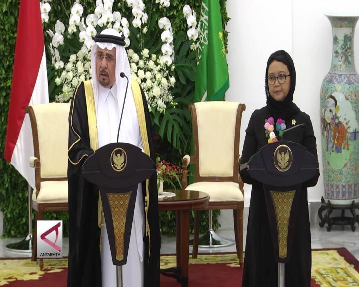 Indonesia-Arab Saudi Bahas Isu Palestina