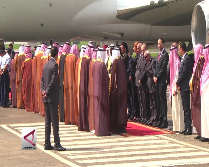 Raja Salman Meninggalkan Jakarta