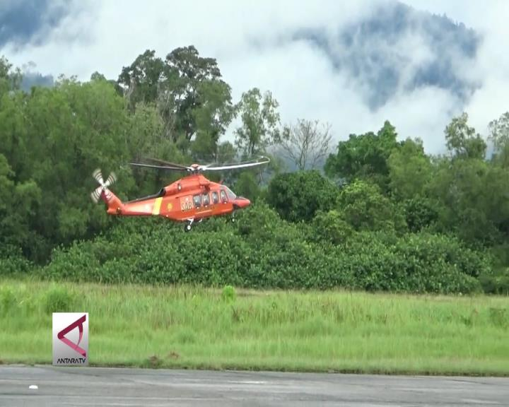 Basarnas Kirim Helikopter Bantuan Korban Bencana Alam Sumbar