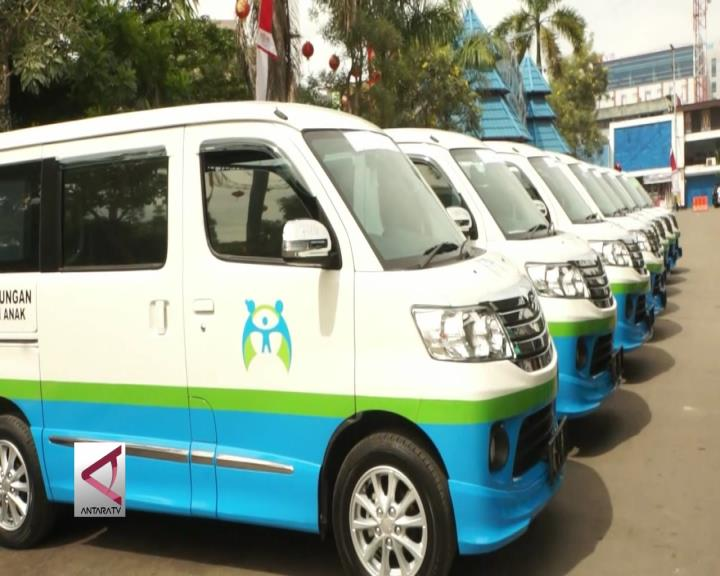 BPPA Papua Serahkan Mobil Kurangi Angka Kekerasan