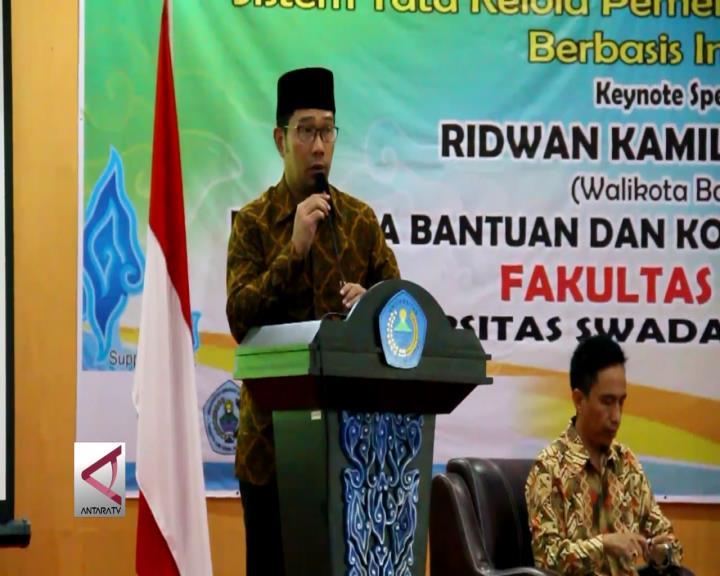 Ridwan Kamil Siap Maju di Pilgub Jabar