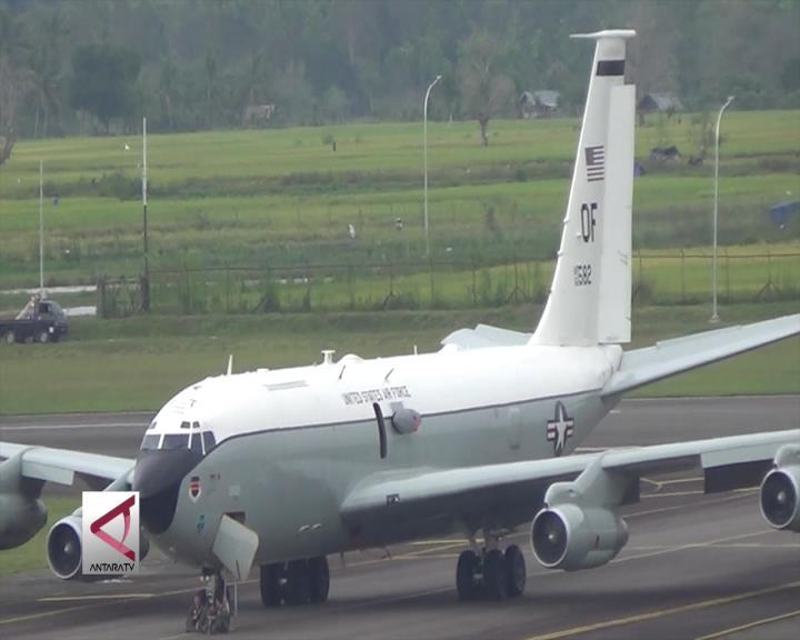 Pesawat Militer AS Mendarat Darurat di Aceh