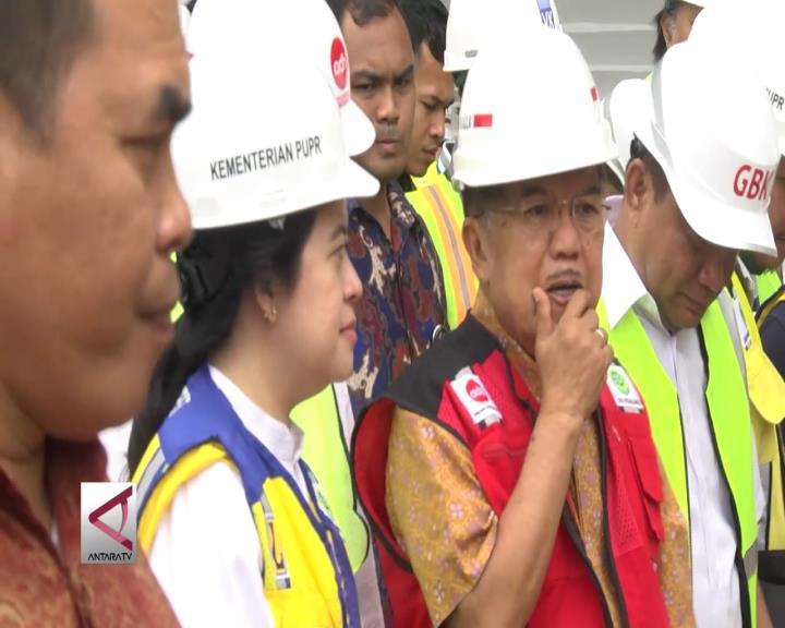 Wapres Tinjau Pembangunan Venue Asian Games