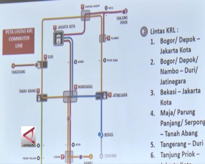 KCJ Tetapkan Jadwal Operasional Baru KRL 1 April