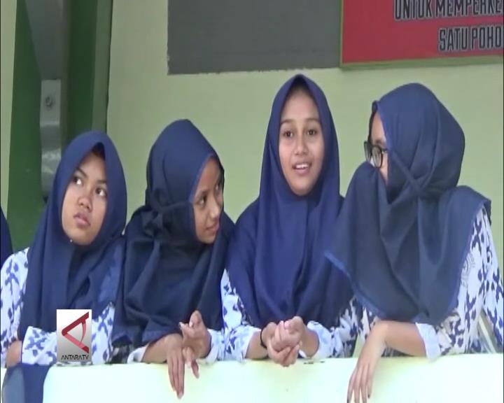 MTsN 1 Kota Palu Jadi Sekolah Percontohan Antikorupsi
