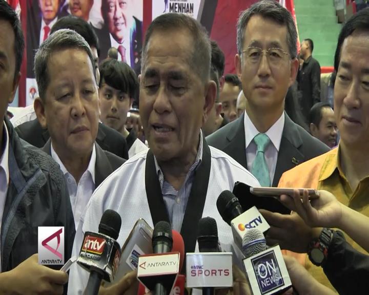 Menteri Pertahanan Buka Kejuaraan Taekwondo