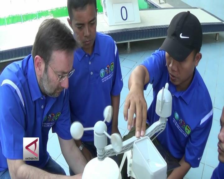 Sensor Cuaca Mulai Terpasang di Palembang