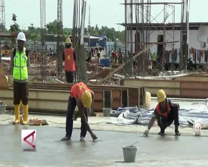 Infrastruktur Asian Games di Palembang Dikebut