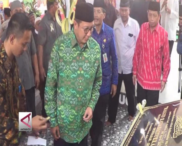 Menag Resmikan Masjid di Kota Denpasar