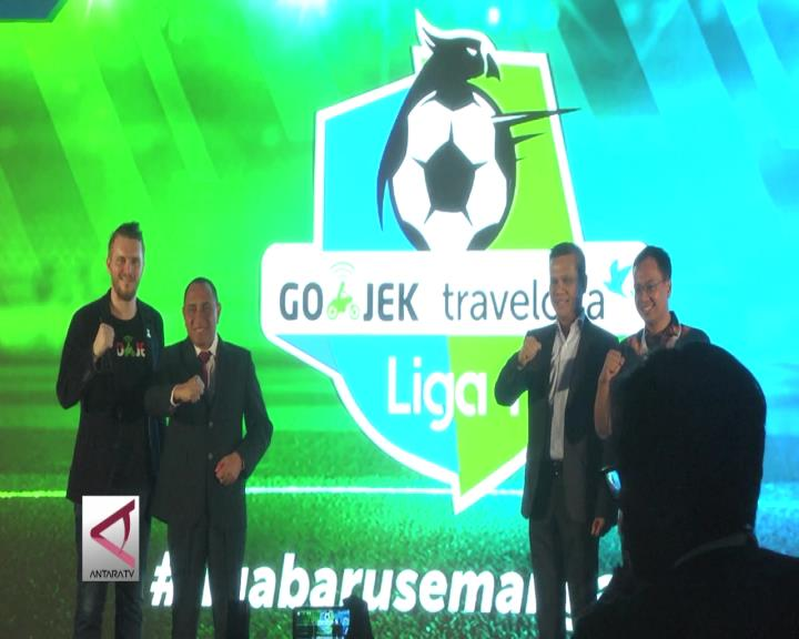Gojek Traveloka Sumbang Rp180 M untuk Liga 1