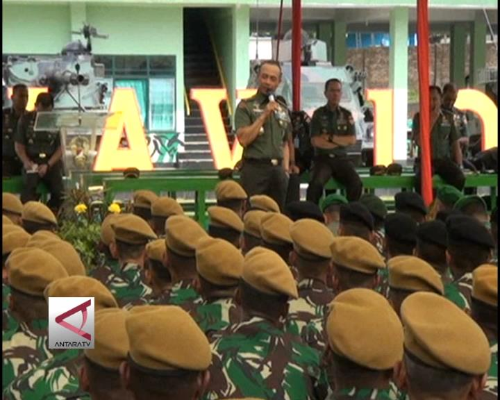 KSAD Resmikan Perubahan Nama Kodam VII/Wirabuana