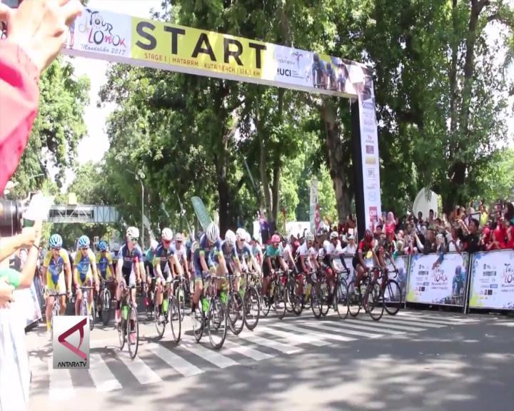 Tour de Lombok Mandalika 2017 Dimulai