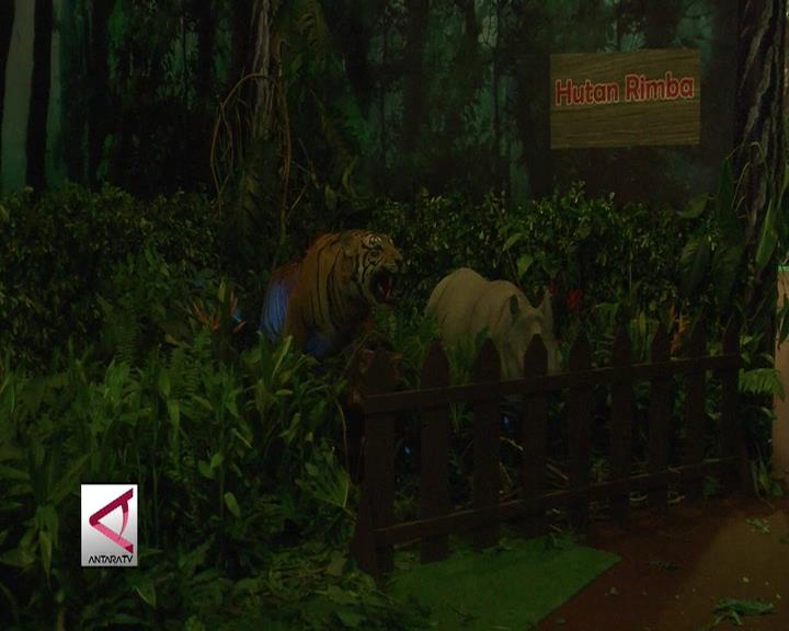 Diorama Hutan, Hadirkan Suasana Hutan di Jakarta