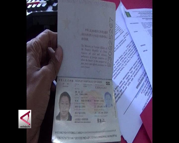 Imigrasi Palu Amankan Warga Tiongkok