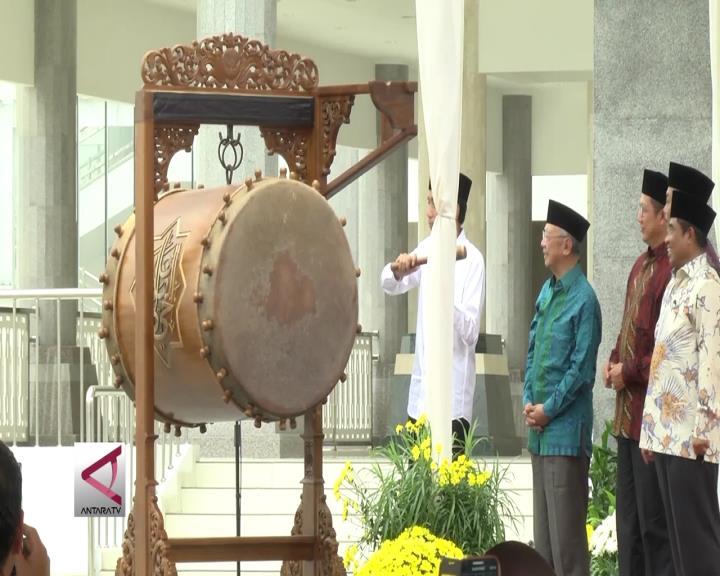Presiden Resmikan Masjid Raya Jakarta