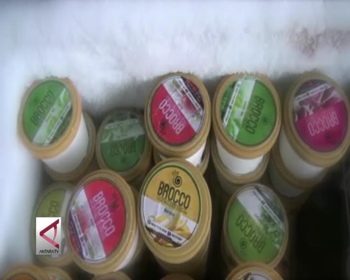 Konsumsi Sehat, Es Krim Rasa Sayuran