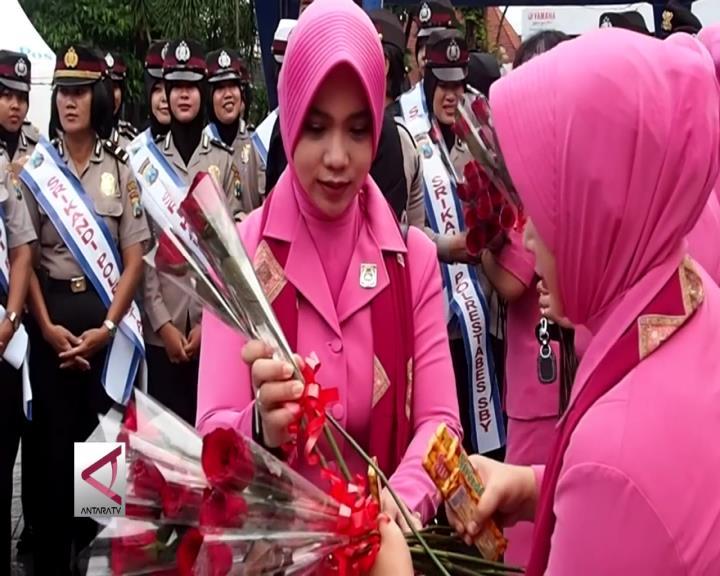 Srikandi Polrestabes Surabaya Rayakan Hari Kartini