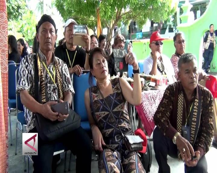 Mengingat Leluhur Mataram Diaspora Jawa Kunjungi Yogya