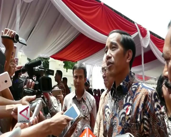 Presiden Jokowi Resmikan Pasar Klewer