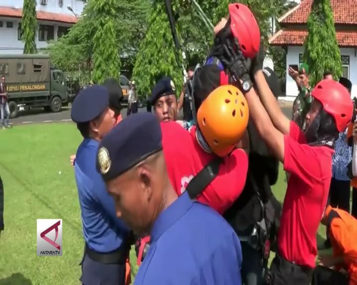 Waspada Bencana, Warga Latihan Penyelamatan