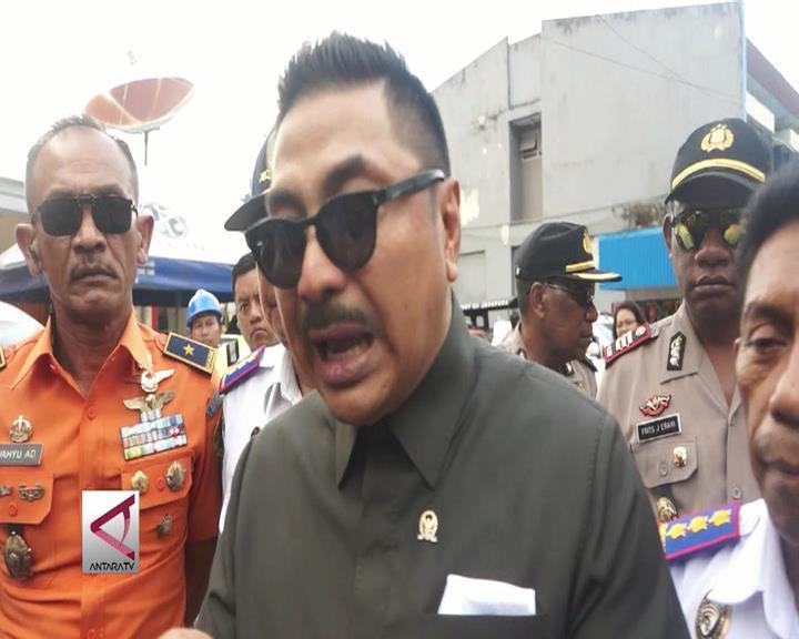 Komisi V Tinjau Dermaga Pelabuhan Jayapura