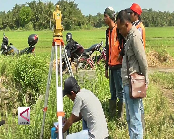 PT KAI Survei Topografi Jalur Kereta Bandara Yogyakarta